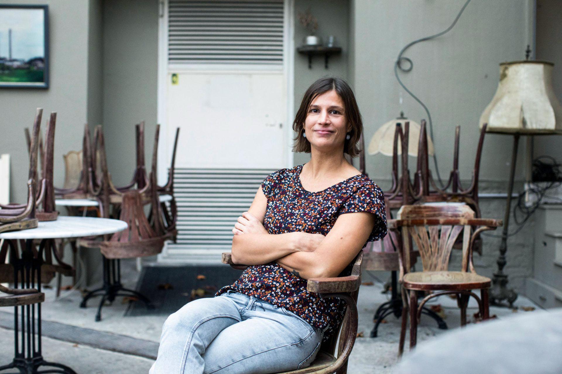 Katrin Kahl fotografiert von fabian stuertz eitelsonnenschein